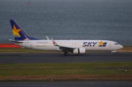 乙事さんが、羽田空港で撮影したスカイマーク 737-86Nの航空フォト(飛行機 写真・画像)
