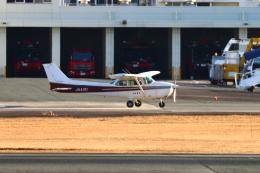myoumyoさんが、熊本空港で撮影したエス・ジー・シー佐賀航空 172P Skyhawk IIの航空フォト(飛行機 写真・画像)