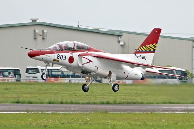 スカルショットさんが、静浜飛行場で撮影した航空自衛隊 T-4の航空フォト(飛行機 写真・画像)