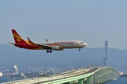 天心さんが、関西国際空港で撮影した海南航空 737-86Nの航空フォト(飛行機 写真・画像)