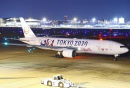 あしゅーさんが、福岡空港で撮影した日本航空 777-246の航空フォト(飛行機 写真・画像)