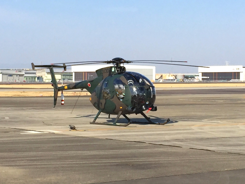 masahiさんの陸上自衛隊 Kawasaki OH-6D (31306) 航空フォト