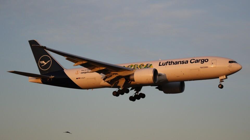 redbull_23さんのルフトハンザ・カーゴ Boeing 777-200 (D-ALFI) 航空フォト
