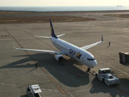 737dolphinさんが、神戸空港で撮影したスカイマーク 737-8HXの航空フォト(飛行機 写真・画像)