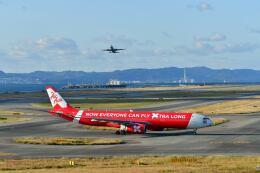天心さんが、関西国際空港で撮影したタイ・エアアジア・エックス A330-343Eの航空フォト(飛行機 写真・画像)
