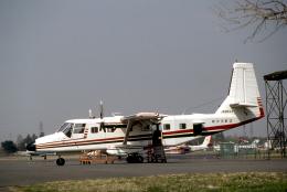 JAパイロットさんが、調布飛行場で撮影した新中央航空の航空フォト(飛行機 写真・画像)