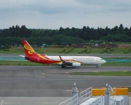 不揃いさんが、成田国際空港で撮影した海南航空 737-86Nの航空フォト(飛行機 写真・画像)