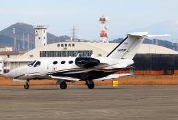 なごやんさんが、名古屋飛行場で撮影した岡山航空 510 Citation Mustangの航空フォト(飛行機 写真・画像)