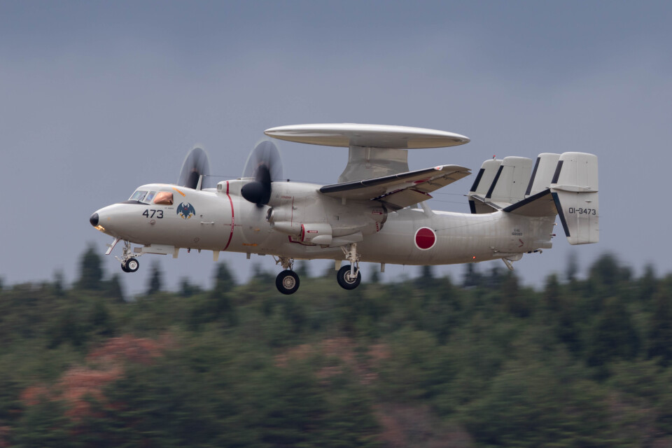 Koenig117さんの航空自衛隊 Northrop Grumman E-2 Hawkeye (01-3473) 航空フォト