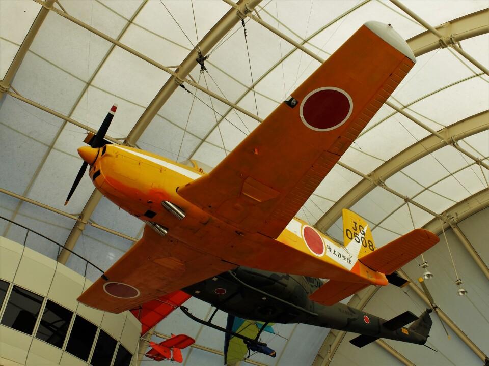 Smyth Newmanさんの陸上自衛隊 Fuji T-34 (60508) 航空フォト