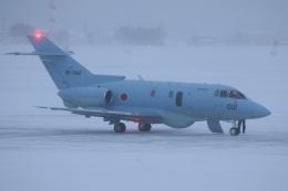 Tomochanさんが、函館空港で撮影した航空自衛隊 U-125A(Hawker 800)の航空フォト(飛行機 写真・画像)