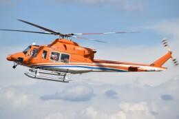 とびたさんが、名古屋飛行場で撮影した新日本ヘリコプター 412EPの航空フォト(飛行機 写真・画像)