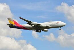 航空フォト:HL7418 アシアナ航空 747-400