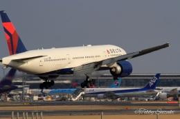 Tobby Suzukiさんが、成田国際空港で撮影したデルタ航空 777-232/LRの航空フォト(飛行機 写真・画像)