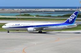 しまb747さんが、那覇空港で撮影したエアージャパン 767-381/ERの航空フォト(飛行機 写真・画像)