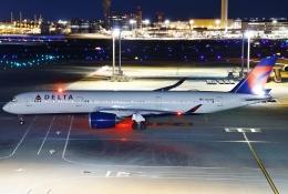 あしゅーさんが、羽田空港で撮影したデルタ航空 A350-941の航空フォト(飛行機 写真・画像)