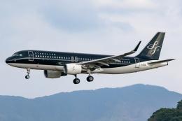 Ariesさんが、福岡空港で撮影したスターフライヤー A320-214の航空フォト(飛行機 写真・画像)