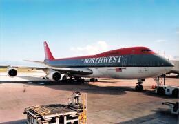 North1973さんが、アントニオ・B・ウォン・パット国際空港で撮影したノースウエスト航空 747-251Bの航空フォト(飛行機 写真・画像)