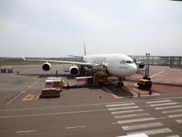 チャンギーVさんが、エンテベ国際空港で撮影したエミレーツ航空 A340-500の航空フォト(飛行機 写真・画像)
