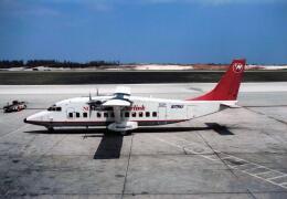 North1973さんが、アントニオ・B・ウォン・パット国際空港で撮影したノースウエスト航空 360-200 (SD3-60)の航空フォト(飛行機 写真・画像)