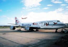 North1973さんが、アントニオ・B・ウォン・パット国際空港で撮影した日本航空 747-346の航空フォト(飛行機 写真・画像)