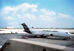 North1973さんが、アントニオ・B・ウォン・パット国際空港で撮影したアジア・パシフィック・エアラインズ 727-212/Adv(F)の航空フォト(飛行機 写真・画像)