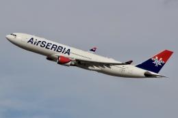JRF spotterさんが、ジョン・F・ケネディ国際空港で撮影したエア・セルビア A330-202の航空フォト(飛行機 写真・画像)