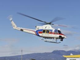 パンサーRP21さんが、群馬ヘリポートで撮影した国土交通省 地方整備局 412EPの航空フォト(飛行機 写真・画像)