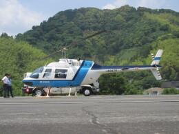 チダ.ニックさんが、静岡ヘリポートで撮影したヘリサービス 206B-3 JetRanger IIIの航空フォト(飛行機 写真・画像)