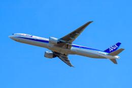 はやたいさんが、成田国際空港で撮影した全日空 777-381/ERの航空フォト(飛行機 写真・画像)