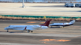 誘喜さんが、羽田空港で撮影したプレミエア EMB-135BJ Legacy 650の航空フォト(飛行機 写真・画像)
