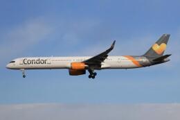フッ軽の極美さんが、フランクフルト国際空港で撮影したコンドル 757-330の航空フォト(飛行機 写真・画像)