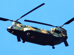 丸めがねさんが、朝霞駐屯地で撮影した陸上自衛隊 CH-47JAの航空フォト(飛行機 写真・画像)