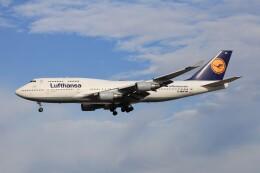 フッ軽の極美さんが、フランクフルト国際空港で撮影したルフトハンザドイツ航空 747-430の航空フォト(飛行機 写真・画像)