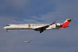 フッ軽の極美さんが、フランクフルト国際空港で撮影したエア・ノーストラム CL-600-2E25 Regional Jet CRJ-1000の航空フォト(飛行機 写真・画像)
