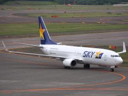 むらさめさんが、新千歳空港で撮影したスカイマーク 737-8ALの航空フォト(飛行機 写真・画像)