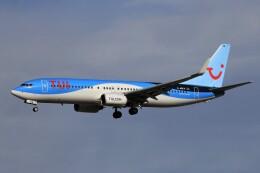 フッ軽の極美さんが、フランクフルト国際空港で撮影したトゥイフライ 737-82Rの航空フォト(飛行機 写真・画像)