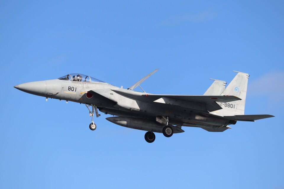 hanatomo735さんの航空自衛隊 McDonnell Douglas F-15J Eagle (02-8801) 航空フォト