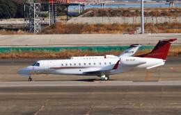ハム太郎。さんが、羽田空港で撮影したプレミエア EMB-135BJ Legacy 650の航空フォト(飛行機 写真・画像)