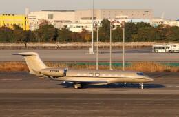 ハム太郎。さんが、羽田空港で撮影したウィルミントン・トラスト・カンパニー G650 (G-VI)の航空フォト(飛行機 写真・画像)
