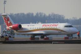 yabyanさんが、ドモジェドヴォ空港で撮影したラスライン CL-600-2B19 Regional Jet CRJ-100ERの航空フォト(飛行機 写真・画像)