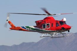 ゴンタさんが、松本空港で撮影した長野県消防防災航空隊 412EPIの航空フォト(飛行機 写真・画像)