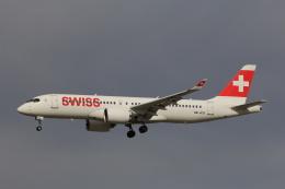 フッ軽の極美さんが、フランクフルト国際空港で撮影したスイスインターナショナルエアラインズ BD-500-1A11 CSeries CS300の航空フォト(飛行機 写真・画像)