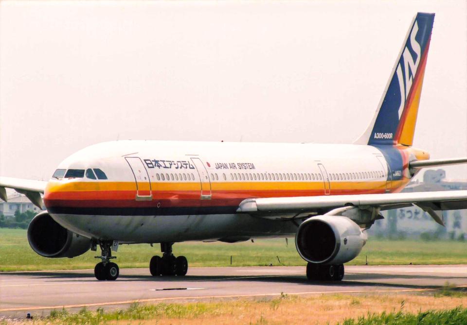 日本エアシステム Airbus A300-600 JA8527 徳島空港 航空フォト   by ...