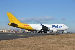 厦龙さんが、横田基地で撮影したポーラーエアカーゴ 747-46NF/SCDの航空フォト(飛行機 写真・画像)