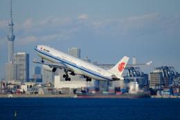 そば小猿さんが、羽田空港で撮影した中国国際航空 A330-343Xの航空フォト(飛行機 写真・画像)