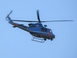 いねねさんが、岐阜基地で撮影した岐阜県警察 412EPの航空フォト(飛行機 写真・画像)