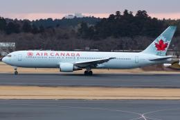 KoshiTomoさんが、成田国際空港で撮影したエア・カナダ 767-375/ERの航空フォト(飛行機 写真・画像)