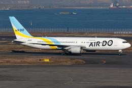 KoshiTomoさんが、羽田空港で撮影したAIR DO 767-381/ERの航空フォト(飛行機 写真・画像)