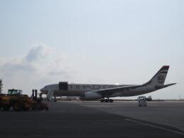 チャンギーVさんが、ジブチ国際空港で撮影したエティハド航空 A330-243Fの航空フォト(飛行機 写真・画像)